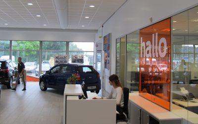 Intense LED verlichting bij Ford dealer Auto van der Burgh