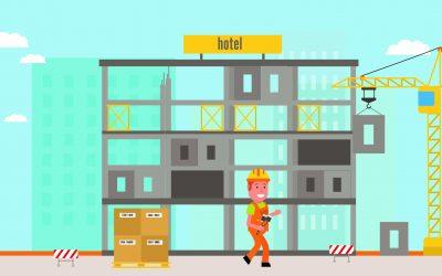 Nieuwe animatiefilm 'prefab oplossingen voor hotels'