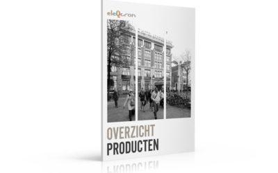 Download nu de nieuwe Eleqtron producten brochure!