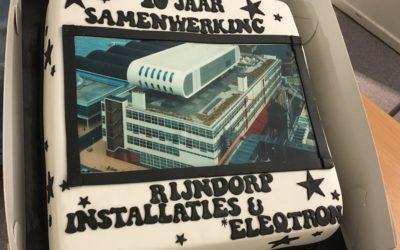 10 jaar samenwerking met Rijndorp Installaties voor onderhoud Las Palmas gebouw!