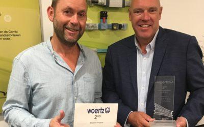 Eleqtron wint belangrijke prijs bij Woertz International Sales Meeting