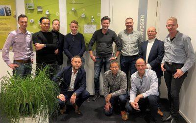Account Managers Legrand Nederland bezoeken Eleqtron