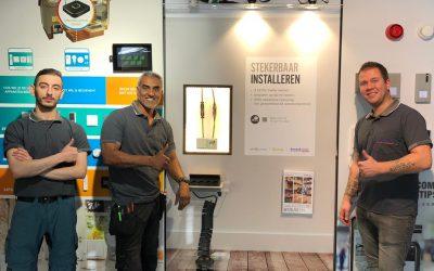 Snoeck Electro Centraal promoot Qneqt producten!