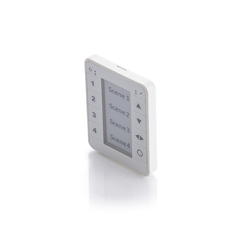 Eleqtron Qneqt Switch Input Unit wandpaneel draadloze communicatie AR EK W CP Electronics AN10 draadloos koppelen