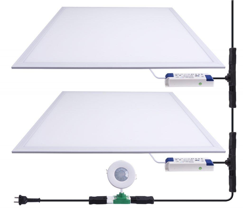 Voorbeeld stekerbare installatie LED verlichting met o.a. stekerbare Q-T plug