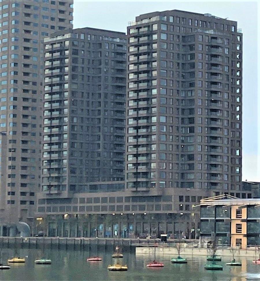 Boston en Seattle gebouw Kop van Zuid Rotterdam december 2020