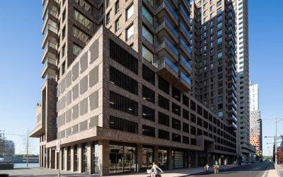 Collectief laden voor 220 parkeerplekken bij woontorens Boston & Seattle