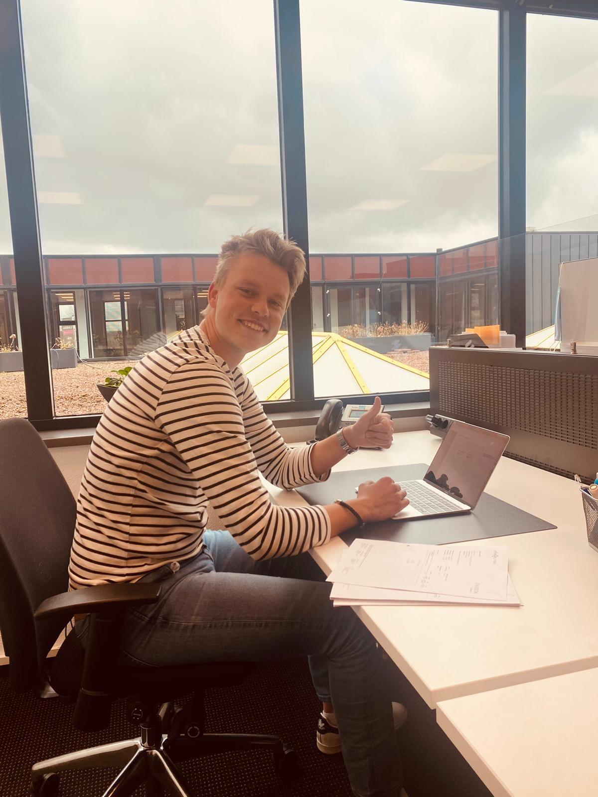 Berry van Dijk nieuwe Account Manager Qcharge bij Eleqtron