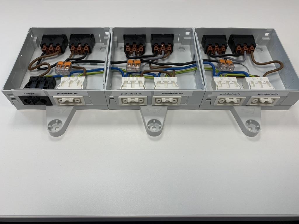 Eleqtron Power 5G2.5mm2 Qneqt Vlakband Vlakbandkabel Vlakkabel 49845 49846